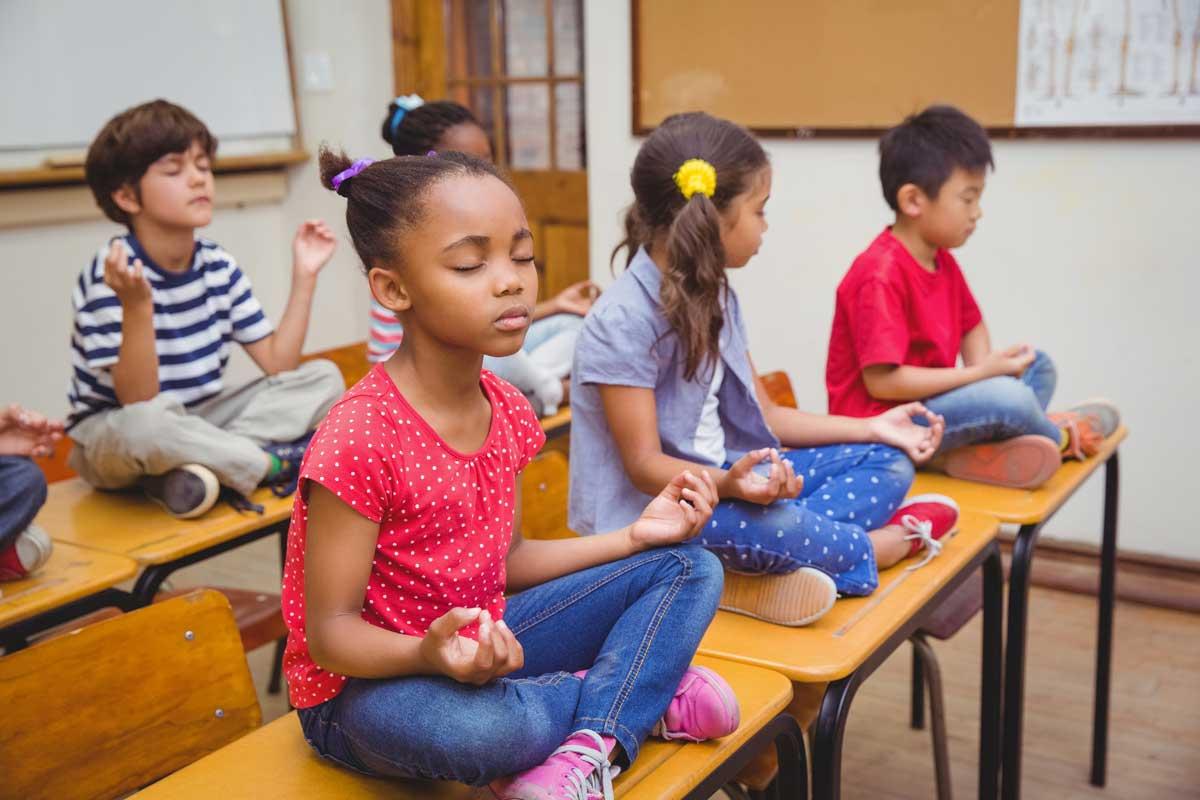 meditation, classroom, mindfulness