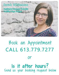 Registered Massage Therapist; Massage Therapy; Women's Wellness Centre; Belleville; RMT; Downtown Belleville; health; wellness; women; She Thrives