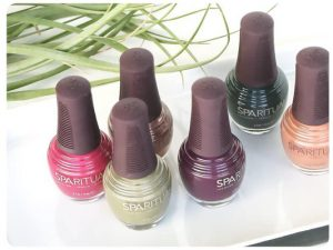 vegan nail polish; cruelty-free nail polish; manicure; pedicure; luxurious; private treatment room; esthetician; aesthetician; Belleville; Downtown Belleville; She Thrives; Mia McEvoy; facial; waxing; aromatherapy massage
