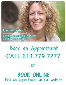 hypnosis; hypnotist; hypnotherapy; therapy; counselling; smoking; weight loss; relaxation; meditation; she thrives; we thrive; belleville; downtown belleville; wellness; women's wellness