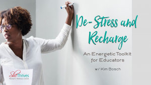 Workshop for Educators to de-stress and recharge held on October 7th