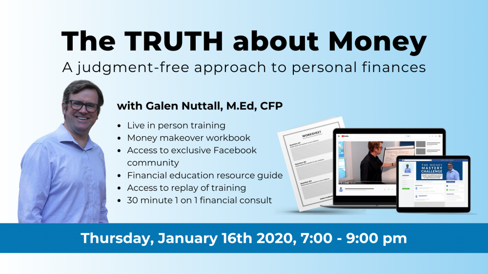 The Truth About Money Workshop