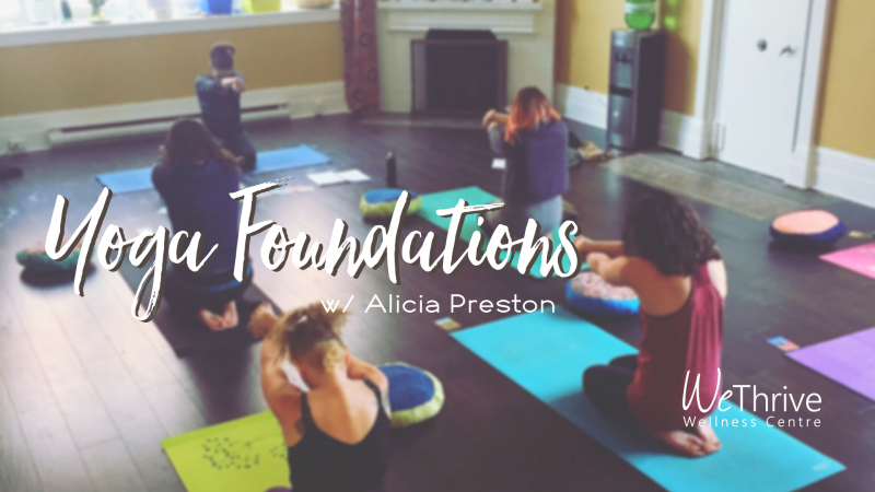 Yoga Foundations 5 week Series