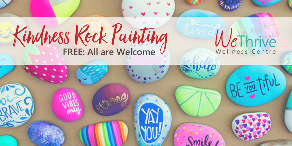Kindness Rock Painting Event