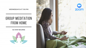 Guided Meditation From Home