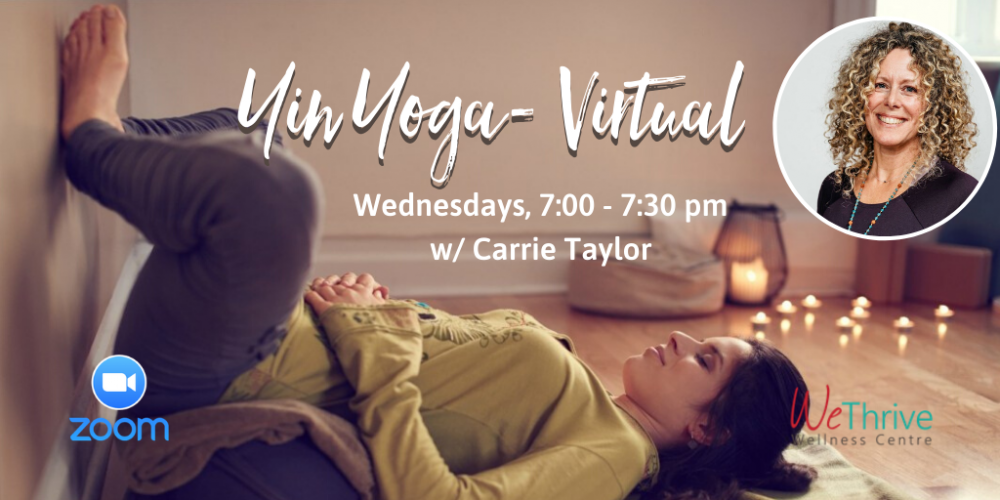 Yin Yoga Virtual