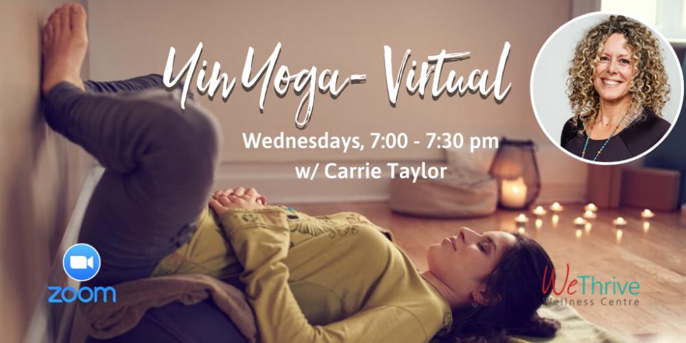 Yin Yoga Virtual