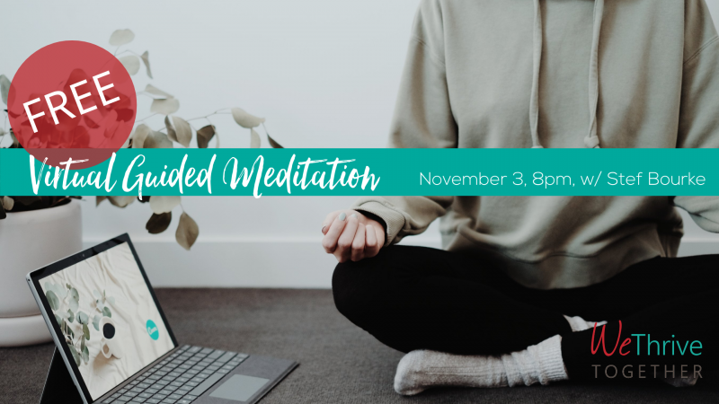 Free Virtual Guided Meditation Session